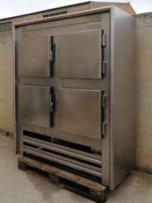 Cámara frigorífica 4 puertas de segunda mano en cabauoportunitats.com