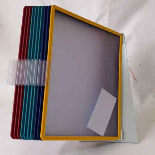 Soporte metálico para 10 marcos transparentes DIN-A4 de segunda mano en cabauoportunitats.com Balaguer - Lleida - Catalunya