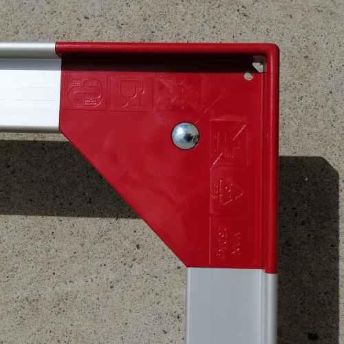 Bastidor rodante de aluminio para cajas euroformato 120x80cm nuevo en venta a cabauoportunitats.com