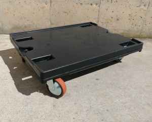 Plataforma amb rodes de 500kg de capacitat mides 60x40cm nou en venda a cabauoportunitats.com Balaguer - Lleida - Catalunya