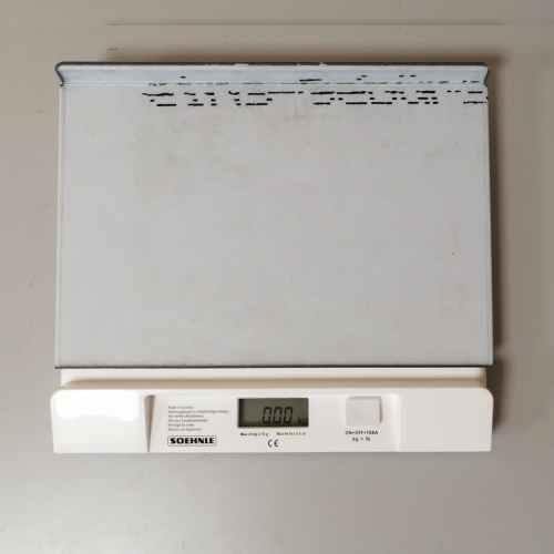 Bàscula SOEHNLE de pesatge de kg en kg nova en venda a cabauoportunitats.com Balaguer - Lleida - Catalunya