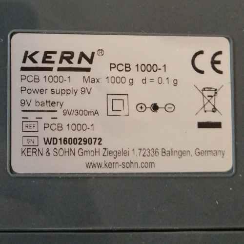 Balança compacta KERN PCB 1000-1 nova en venda a cabauoportunitats.com Balauger - Lleida - Catalunya