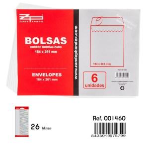 Bosses de correu normalitzat de 184x261mm noves procedents d'un final d'estoc en venda a cabauoportunitats.com Balaguer - Lleida - Catalunya