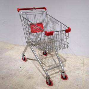 Carro de supermercat tipus caddy de segona mà en venda a cabauoportunitats.com Balaguer - Lleida - Catalunya