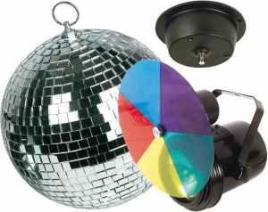 Kit iluminación disco bola espejos nuevo en venta en cabauoportunitats.com