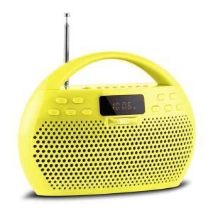 Ràdio bluetooth TREVI KB-380 Groga d'oferta nova en venda a cabauoportunitats.com Balaguer - Lleida - Catalunya