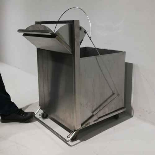 Cubell per a cafetera de secgona mà fet d'acer inoxidable en venda a cabauoportunitats.com Balaguer - Lleida - Catalunya