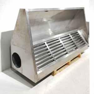 Campana extractora de 220cm d'acer inoxidable per a hostaleria i restauració en venda a cabauoportunitats.com Balaguer - Lleida - Catalunya