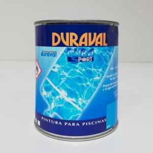 Pintura per a piscines DURAVAL DURASPORT 750ml procedent d'un final d'estoc en venda a cabauoportunitats.com Balaguer - Lleida - Catalunya