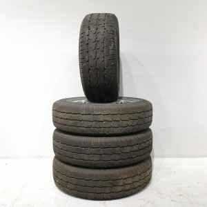 Lote de 4 neumáticos con llanta WIN-TRANSIT 215 65 R16 C en venta en cabauoportunitats.com
