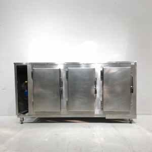 Armari neutre d'acer inoxidable de segona mà de 169x60x87cm en venda a cabauoportunitats.com Balaguer - Lleida - Catalunya