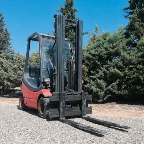 Toro LINDE H16 triplex de 520cm d'elevació màxima en venda a cabauoportunitats.com Balaguer - Lleida - Catalunya