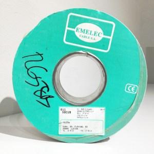 Bobina de 100m de cable coaxial EMELEC Q11-58CUB de segunda mano en venta en cabauoportunitats.com