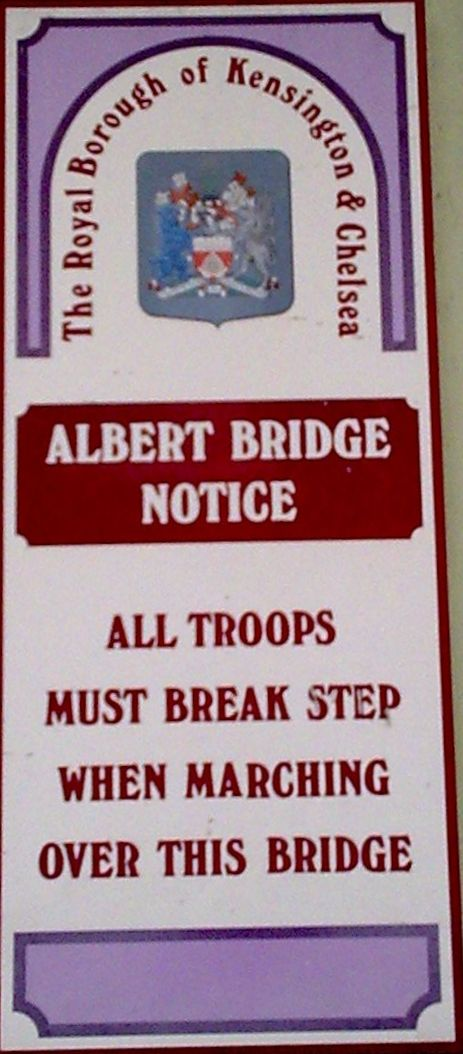 Albert Bridge Notice