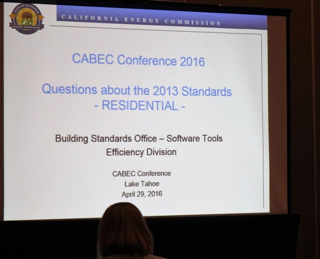 CEC 2013 Standards Questions Session
