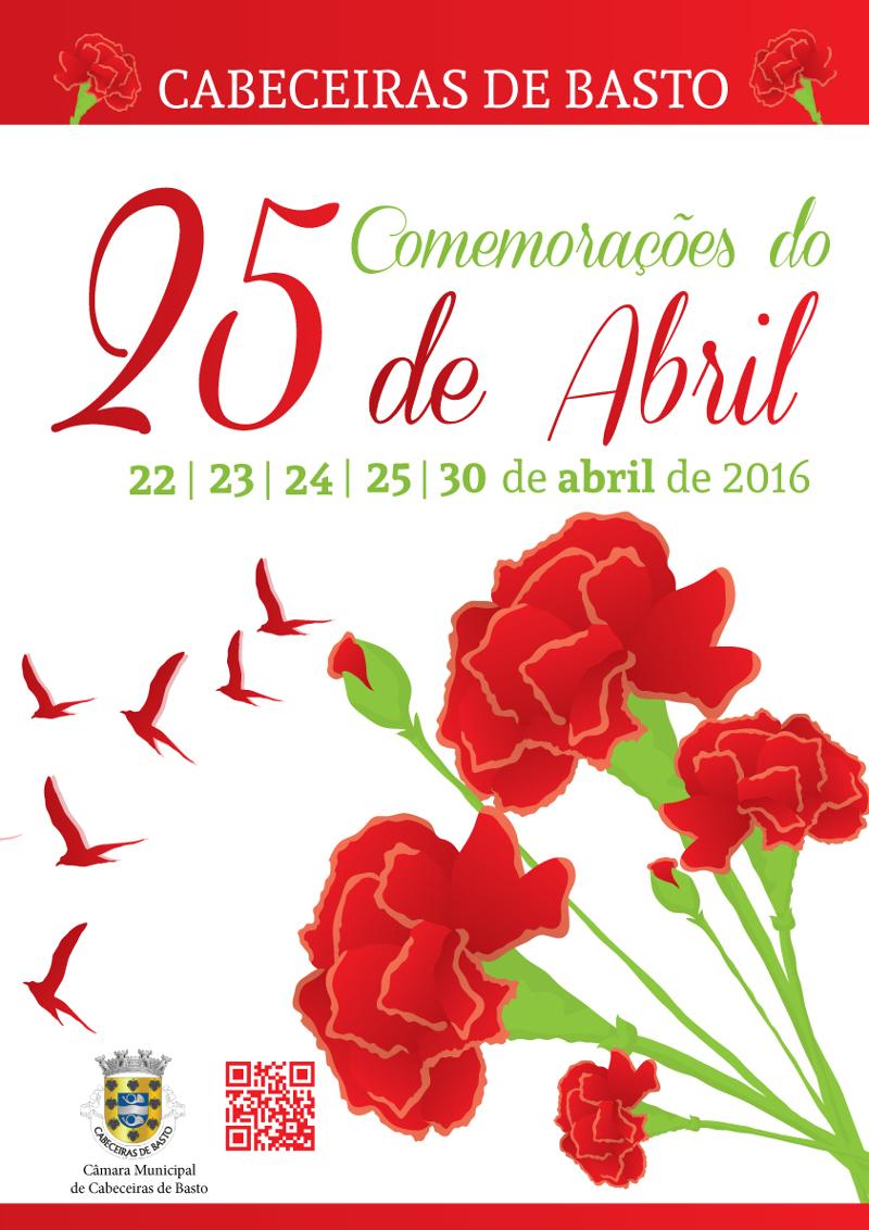Municpio de Cabeceiras de Basto comemora 25 de Abril