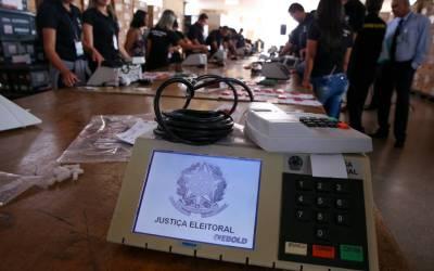 Urna Eletrônica (Pedro Ladeira Folha Press)