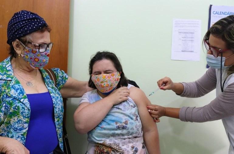 vacinação foz