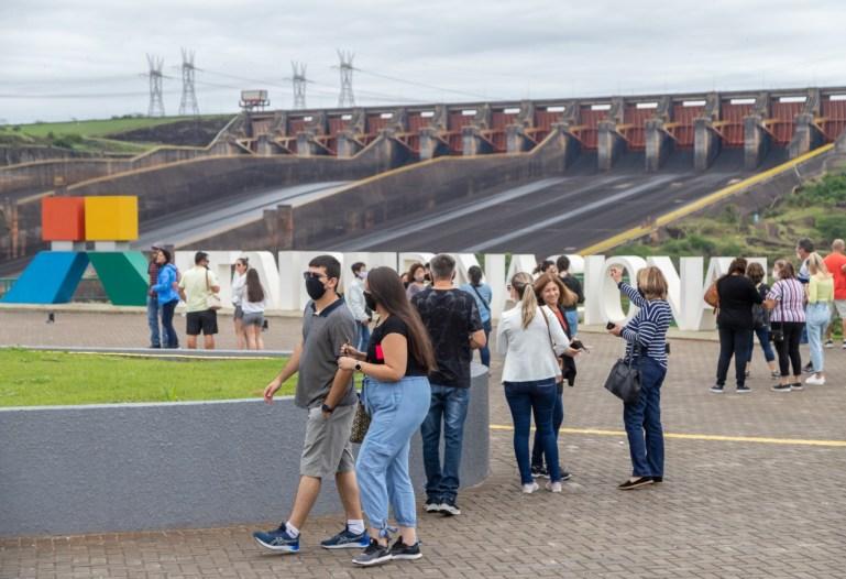 visitação na itaipu