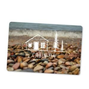 Cabin No. 4 gift card