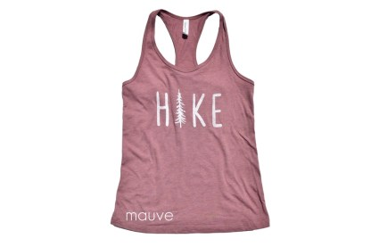 HIKE tank top in color mauve