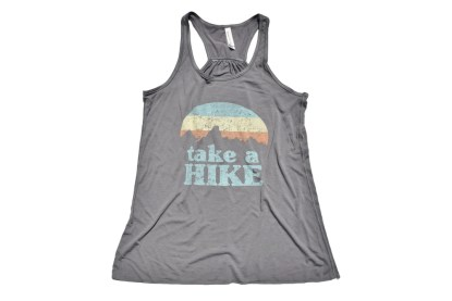 Take a Hike tank top in storm grey