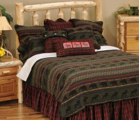 Rustic Cabin Furnishings Luxury Bedding