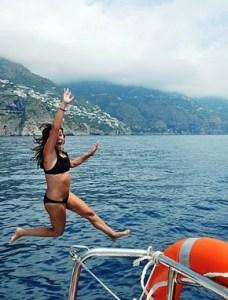 Sailing the Amalfi Coast, Italy