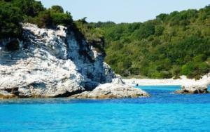 Emerald bay, N. Ionians, Greece