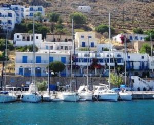 Lividia, Tilos, Greek Island Sailing