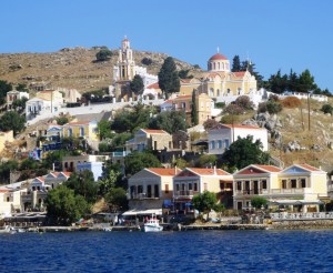 Symi Town, Dodecanese Islands Sail