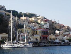 Symi Town, Ddecanese, Greek Sailing