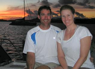 Mike & Angie, BVI, Caribbean