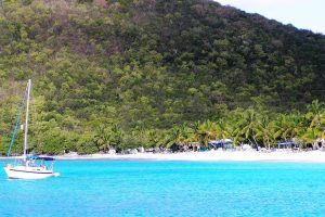 White Bay, BVI, Caribbean Sailing