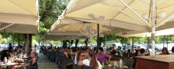 Corfu Town, Along the Esplanade