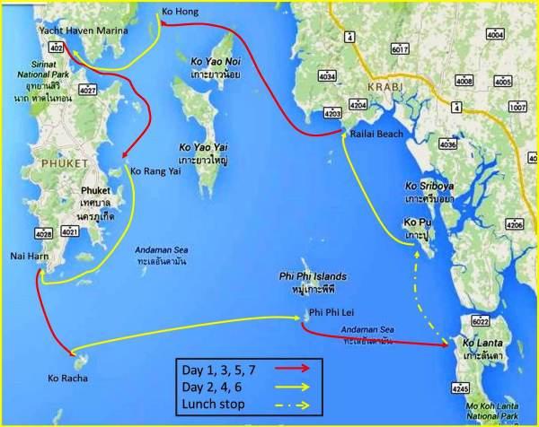 Phuket CCS Itinerary