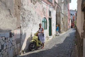 Small streets of Procida