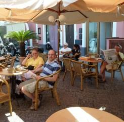 Cafes on Procida, CCS Amalfi Sail