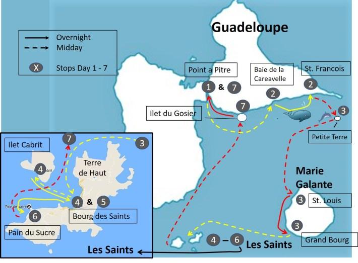 Guadeloupe Sample Itinerary