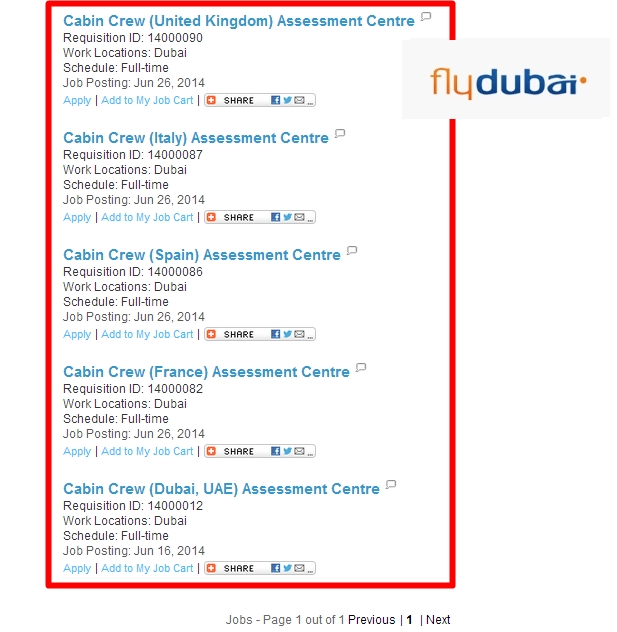 Flydubai Is Hiring Cabin Crews This 2014 Cabin Crew