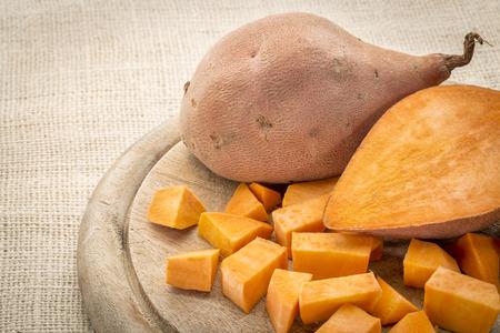 Venison, sweet-potato, chipotle chili