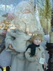 Victorian Santa and Children