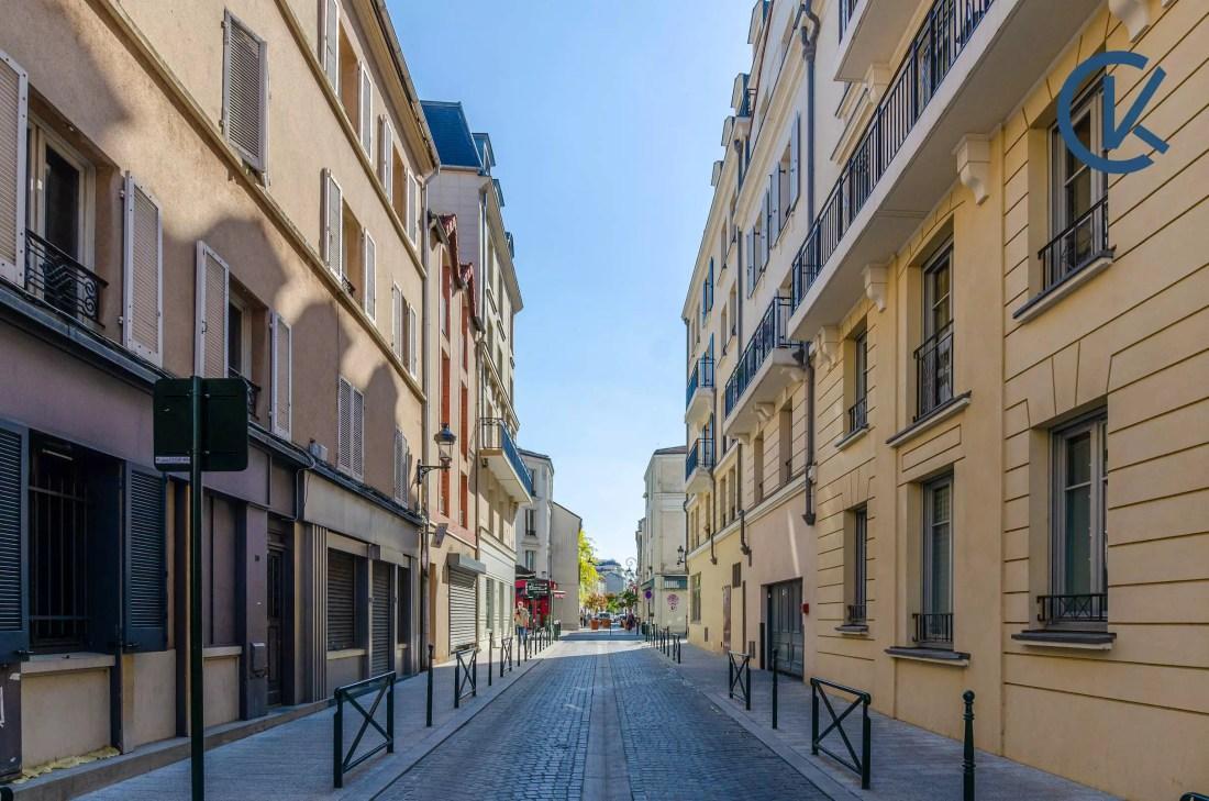 Puteaux - Rue où le cabinet est situé