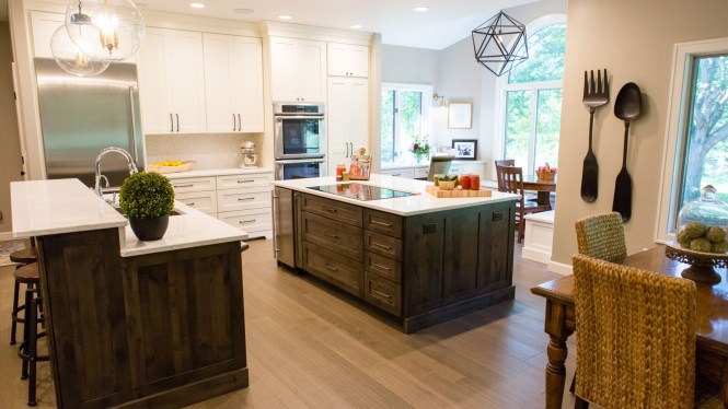 Large Double Island Kitchen