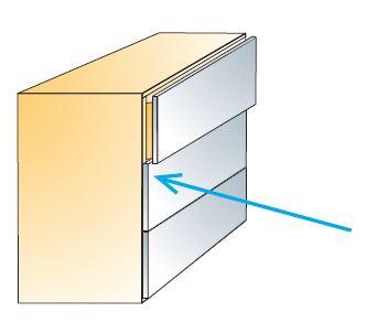 push latch titus cabinet