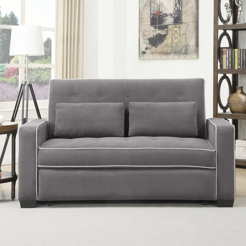 sofa convertibles michigan next beds 1 serta augustine convertible grey wide bed