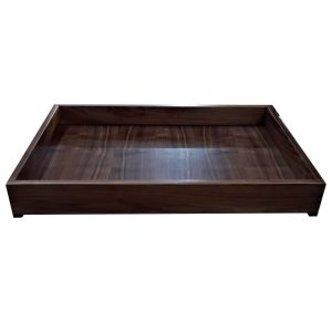 Walnut Drawer Box_25.75x18x3