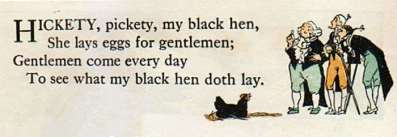 My Black Hen