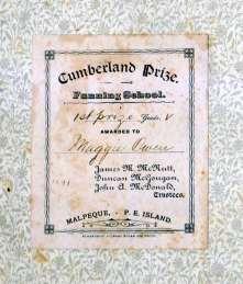 Cumberland Prize