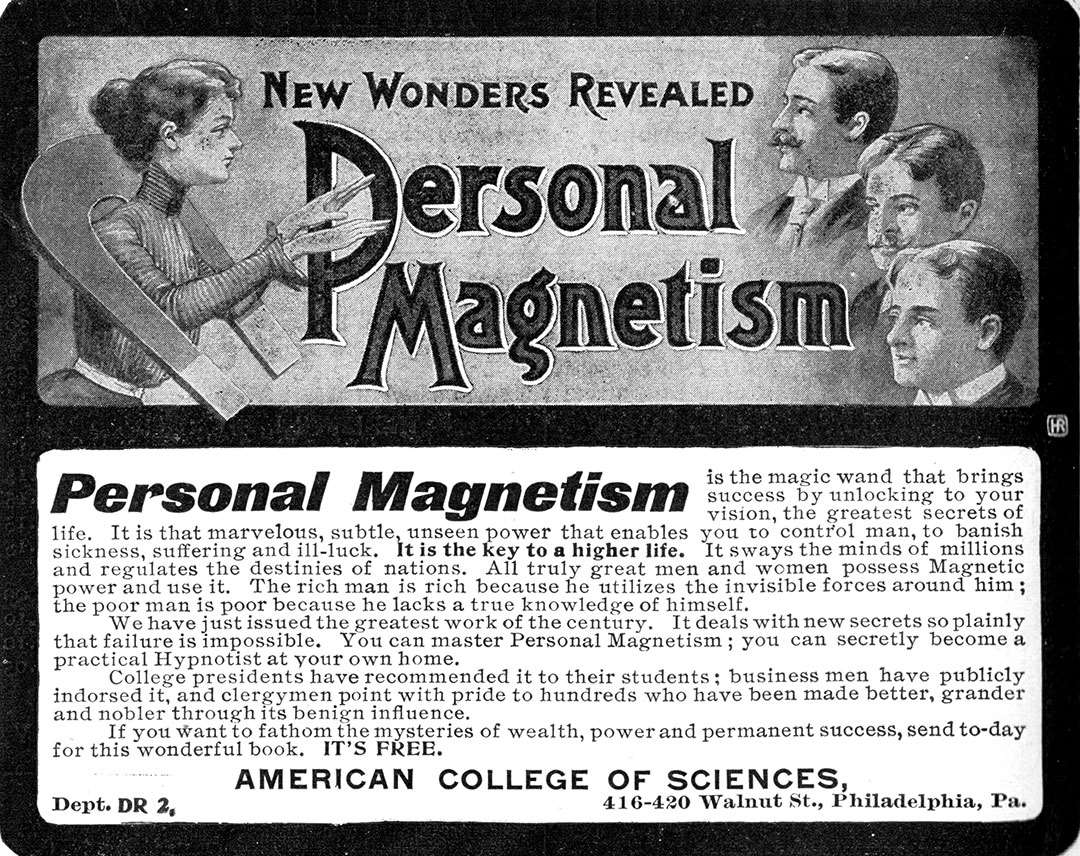 Personal Magnetism - New Wonders Revealed